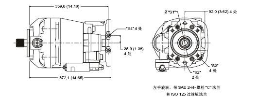 威格士液压系列 工业用回路轴向柱塞泵   型号代&